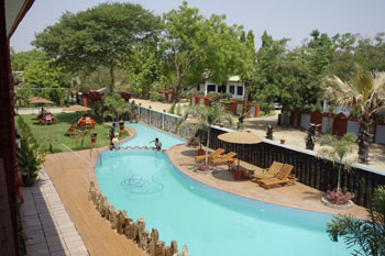 Sky palace hotel in new bagan burma myanmar three stars hotel - The sky pool a deluxe adventure ...