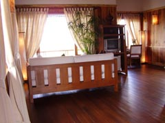 hotel treasure at inle lake myanmar burma
