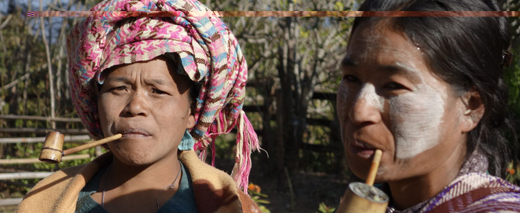 Women from Chin Ethnic group near Mindat